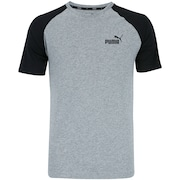 Camiseta Puma Elevated Ess Raglan - Masculina