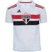 Camisa do São Paulo I 2018 adidas - Infantil c929e63e5a8