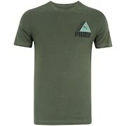 Camiseta Puma TRI Retrô - Masculina