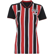 Camisa do São Paulo II 2018 adidas - Feminina 869894a951c05