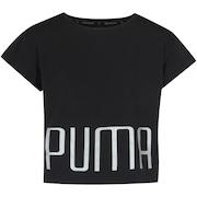 Camiseta Cropped Puma Explosive Tee Feminina - Infantil