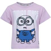 Camiseta Puma Minions Tee Feminina - Infantil