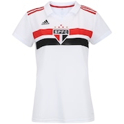 6423bfa03c Camisa do São Paulo I 2018 adidas - Feminina