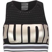 Top Fitness com Bojo Puma BRA M - Adulto