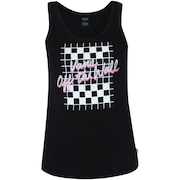 Camiseta Regata Vans Vintage Checks TA - Feminina