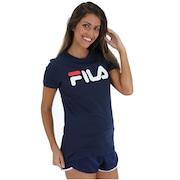 Camiseta Fila Letter...