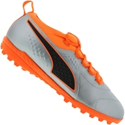 Chuteira Society Puma One 3 Leather TF - Adulto