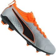 Chuteira de Campo Puma One 3 Leather FG BDP - Adulto