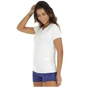 Camiseta Oxer Stripe Tule - Feminina