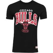 Camiseta Mitchell & Ness Chicago Bulls Team Arch M157A - Masculina