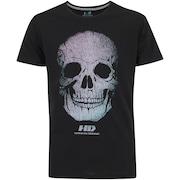 Camiseta HD Hologra Skull - Masculina