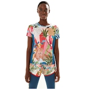 Camiseta Farm Rio Dry Fit Carnaval de Cor - Feminina