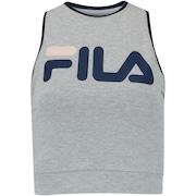 Camiseta Regata Cropped Fila Athenas - Feminina