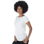 Camiseta Oxer Abstrato Flame - Feminina