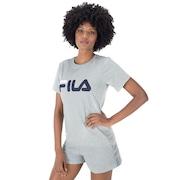 Camiseta Fila Basic Letter - Feminina