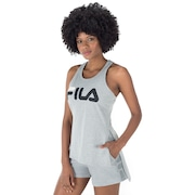 Camiseta Regata Fila Letter Long - Feminina