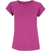 Camiseta Oxer Mesh Fux - Feminina