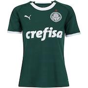 577cdba92401b Camisa do Palmeiras I 2019 Puma - Feminina