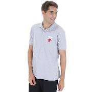 Camisa Polo NBA Chicago Bulls Mini Logo - Masculina