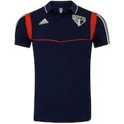 04a3d82a65363 Camisa Polo do São Paulo Viagem 2019 adidas - Masculina
