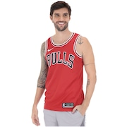 f2d5c6f013 Camisa Regata Nike NBA Chicago Bulls Icon Edition Swingman - Masculina