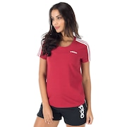 Camiseta adidas Essentials 3S Slim - Feminina