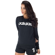 Blusão Moletinho adidas Essentials Linear - Feminino