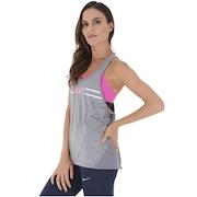 Camiseta Regata Nike Miler Tank Racer Hyper Femme - Feminina