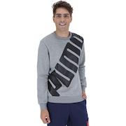 Blusão de Moletom Puma Big Logo Crew - Masculino