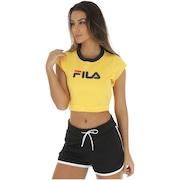 a42be211f4 Blusa Cropped Fila Pia - Feminina