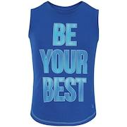 Camiseta Regata Oxer Be Feminina - Infantil