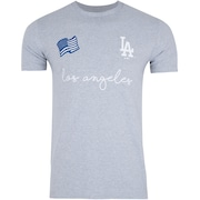 Camiseta New Era Los Angeles Dodgers ADD Flag - Masculina