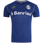 Camisa do Grêmio Aquecimento 2019 Umbro - Masculina