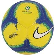 21352ecde3e41 Bola de Futebol de Campo da Seleção Brasileira Copa América 2019 Pitch Nike