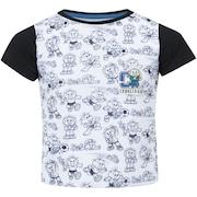 Camiseta Oxer Cebolinha Medalha - Infantil