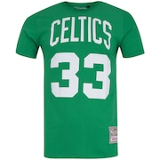 Camiseta Mitchell & Ness Boston Celtics Name and Numbers - Masculina