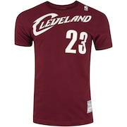 Camiseta Mitchell & Ness Cleveland Cavaliers James 23 - Masculina