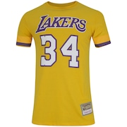 Camiseta Mitchell & Ness Los Angeles Lakers O'neal - Masculina