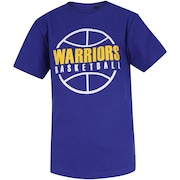 Camiseta NBA Golden State Warrios Outline - Infantil