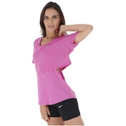 Camiseta Nike Top SS 10K Breathe - Feminina