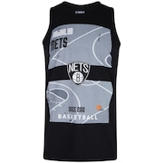 Camiseta Regata NBA Brooklyn Nets Court - Masculina