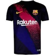 f5a245dcbd Camisa Pré-Jogo Barcelona 19/20 Nike - Infantil