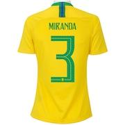 fe914188b5cbe Camisa do Brasil - Camisa Seleção Brasileira 2018   2019 - Centauro