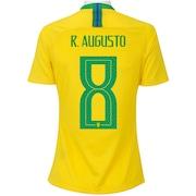 Camisa da Seleção Brasileira I 2018 Nike nº 8 Renato Augusto - Feminina