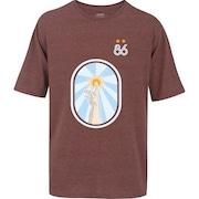 Camiseta Oxer Básica - Masculina - VINHO - ARGENTINA 86 4c2904fd2f5f8