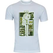 Camiseta Adams - Masculina - Branco - Fome de Bola