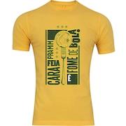 Camiseta Adams - Masculina - Amarelo - Fome de Bola
