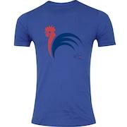 Camiseta Adams Futebol - Masculina - Azul - França I