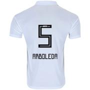 Camisa do São Paulo I 2018 adidas - nº 5 Arboleda- Masculina 4a4a960f51ed1