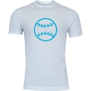 Camiseta Adams Básica Futebol - Masculina - Branco - Bola Beisebol